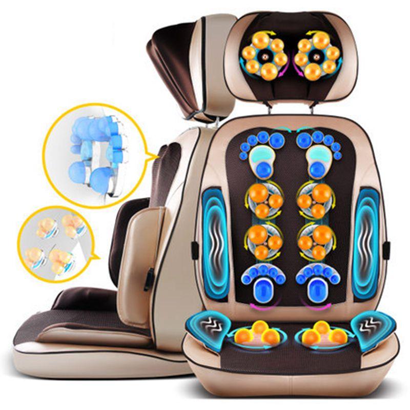 De massage Cervical cou body retour taille coussin de massage corps multi-fonction oreiller de massage chaise coussins maison coussin