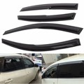 4Pcs/Set Car Door Side Window Visor Moulding Awning Shelters Shade Vent Rain Guards Deflector Cover For NISSAN /ALTIMA 2013-2015