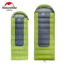 Naturehike F400 Winter Season Envelope Type Sleeping Bag with Fleece Lining