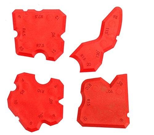10sets Per Order Multi-functional Different Corner Sizes Plastic Silicone Sealant Scraper Silicone Trowel New Popular Type