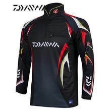 Daiwa marke angeln shirt Sommer neue männer professionelle angeln t shirts UPF 50 + sonnenschutz kleidung atmungsaktiv angeln hemd