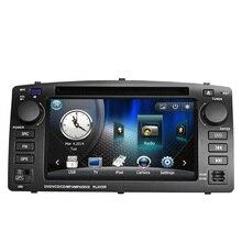 6.2 дюймов Dvd-плеер Автомобиля Gps-навигация Для BYD F3 Toyota Corolla E120 2003 2004 2005 2006 с Bluetooth управлением Рулевого колеса