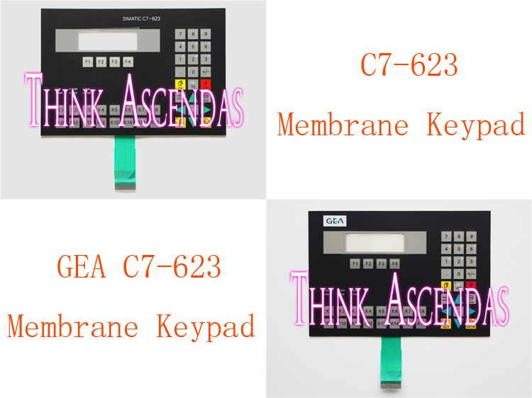 1pcs New C7-623 6ES7623-1AE01-0AE3 6ES7 623-1AE01-0AE3 / GEA C7-623 6ES7623-1SB01-0AC0 6ES7 623-1SB01-0AC0 Membrane Keypad расческа мужская 623 6