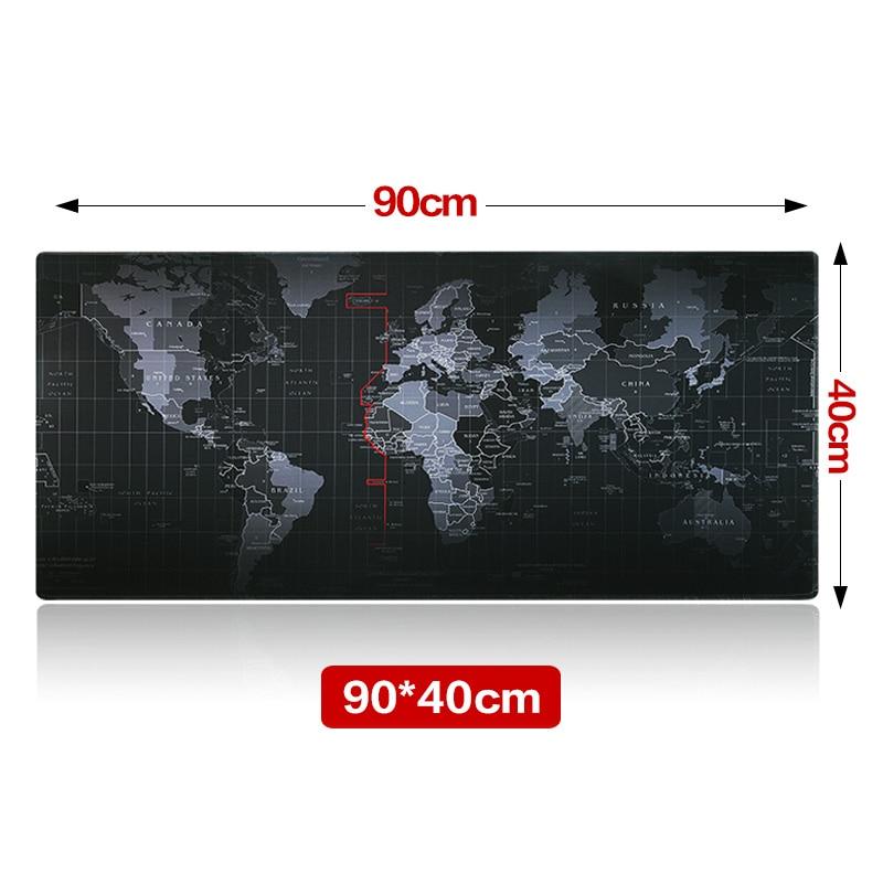 Mare dimensiune 900 * 400 * 3mm Harta mondială Rapid personalizat de - Materiale școlare și educaționale - Fotografie 2