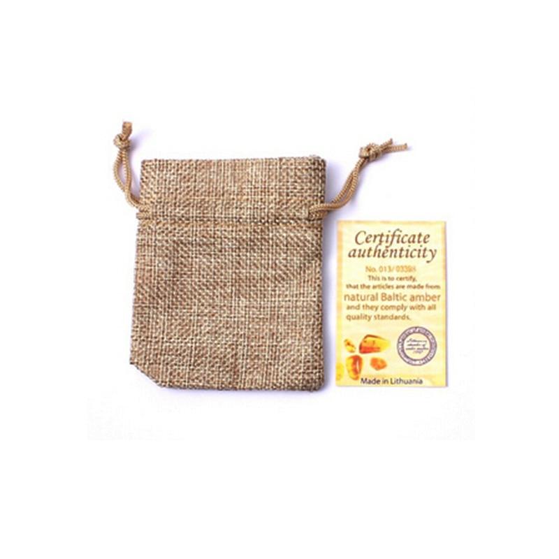 HAOHUPO Collar de ámbar natural Certificado de suministro - Joyas - foto 4