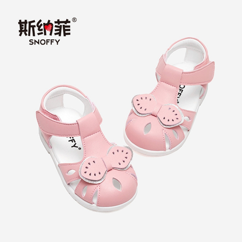 2019 Baby Girl Sandals Anti-slip Shoes Glitter Flower Princess Shoes Toddler Baby Girl Sandal Casual Soft Bottom Shoes TX493