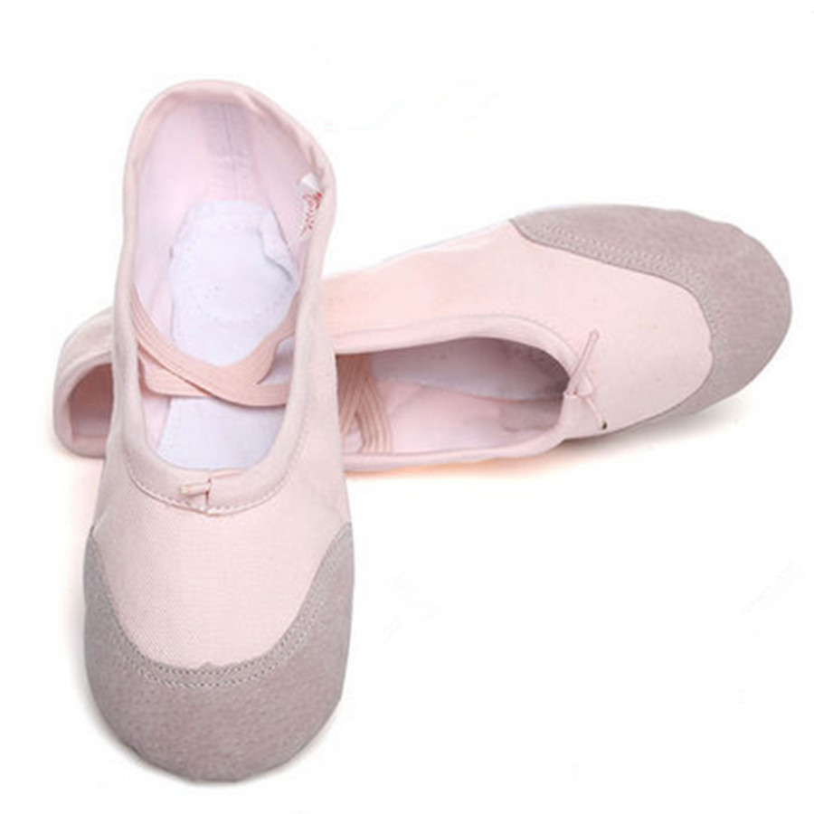 canvas ballet shoe