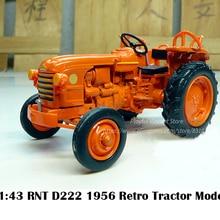 Редкое Специальное предложение 1:43 RN D22 1956 Ретро Трактор Сельскохозяйственная модель автомобиля коллекционная модель сплава