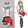 Proyecto personalizado escuela idol japonesa anime love live minami kotori cosplay vestido de traje