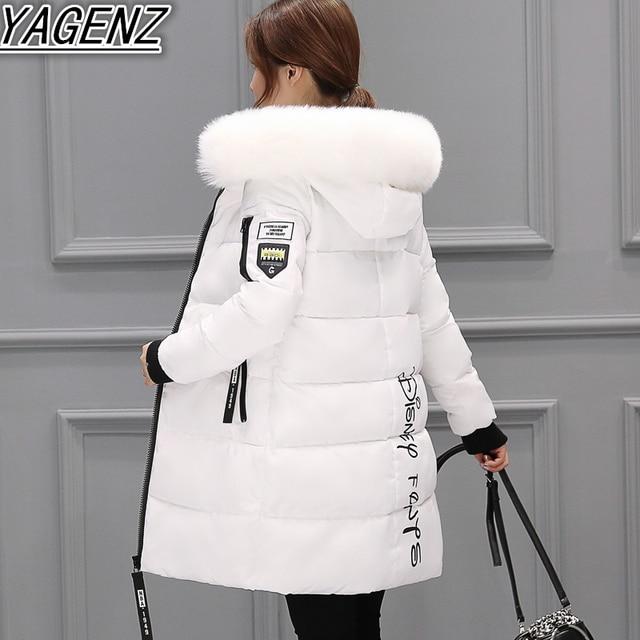 Lange Winter Jacken Für Frauen 2018 Mode Winter Jacken Lady High-end Unten Baumwolle Jacken Frauen Warmen Baumwollmantel frauen kleidung