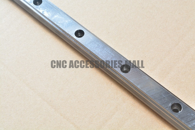 Original HIWIN Linear Guide Rails HG series HGR15 500mm guideway  for cnc router the manga guide to linear algebra toothed belt drive linear guideway