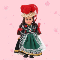 Hot Kids Toys Baby Ethnic Dolls France Ethnic Woman Clothes 4inch Mini Doll Girls Boys Child