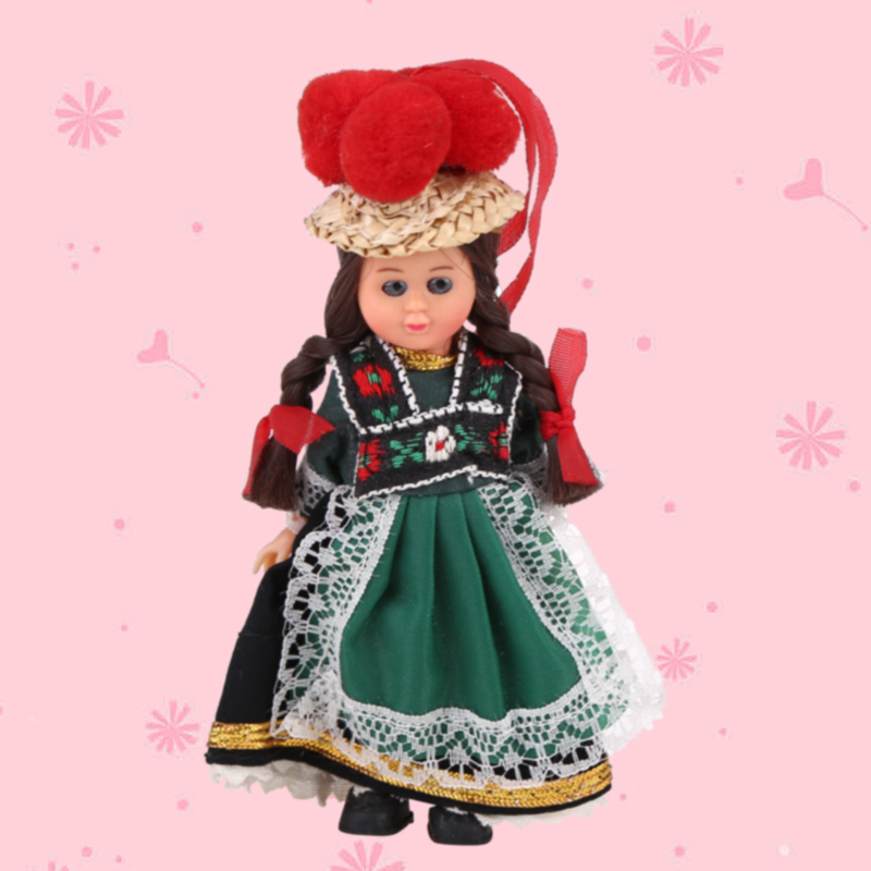 Hot Kids Toys Baby Ethnic Dolls France Ethnic Woman ...