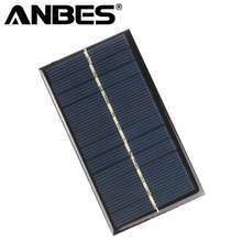 Solar Panel Portable Mini 6V 1W 110*60mm Sunpower DIY Module Panel System For Solar Lamp Battery Toys Phone Charger Solar Cells