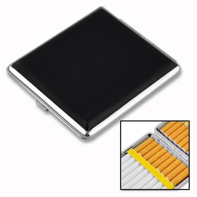 WITUSE Cheap! Elegant Pipe Creative Personality Cigaret Case Slim Metal Cigarette Box Aluminum Gift Box Mini Cigarette Holder