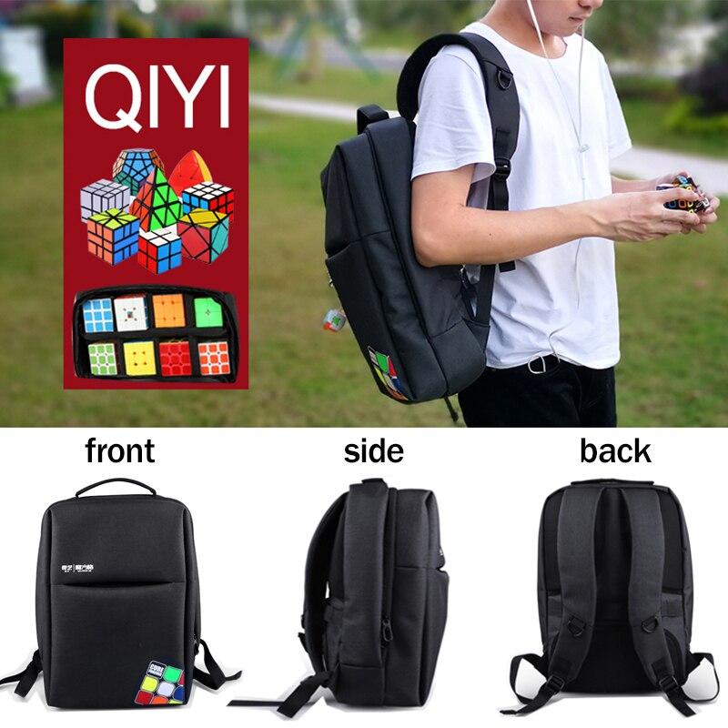 Nouveau Qiyi Mofangge sac à dos sac professionnel pour néo Cube Puzzle 2x2 3x3 4x4 5x5 6x6 7x7 8x8 9x9 10x10 tous jouets jeux sac de voyage