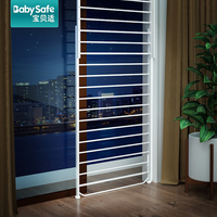Babysafe window guardrail 20 335CM child protection window security anti theft net balcony high rise bay window fence free punch