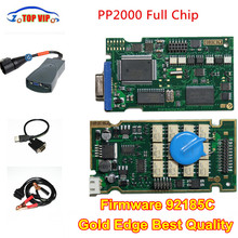 DHL Free! Newest Diagbox V7.83 PP2000 Full Chip Firmware 921815C Lexia3 For C-i-troen/Pe–uge-ot OBD2 Car Diagnostic Tool
