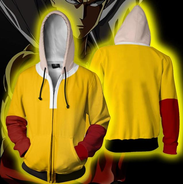 One Punch Man 3D hoodie