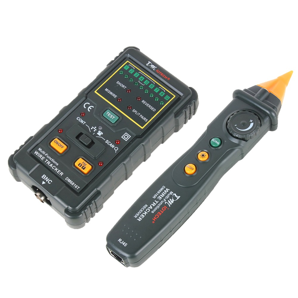 New RJ45 RJ11 Ethernet LAN Network Cable Tester Wire Tracker ...