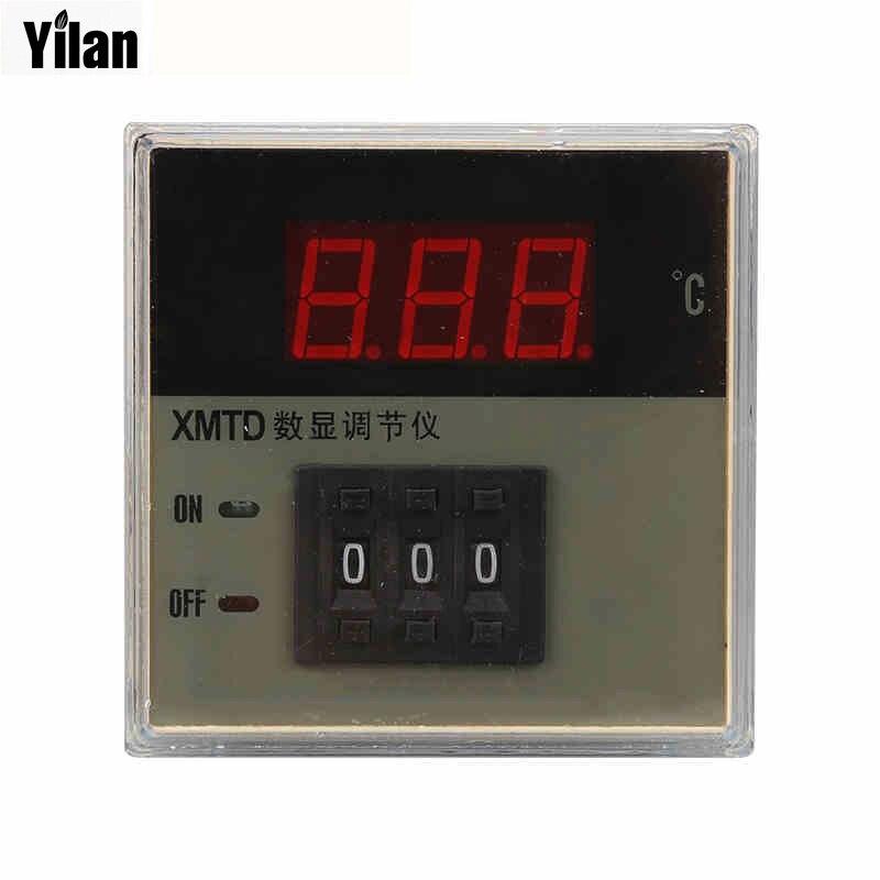 Temperature Instruments Xmtd-2001 2002 220v/380v Ac K Type/e Type/pt100 Temperature Controller,0-399c Led Digital Display Control Meter Good Quality