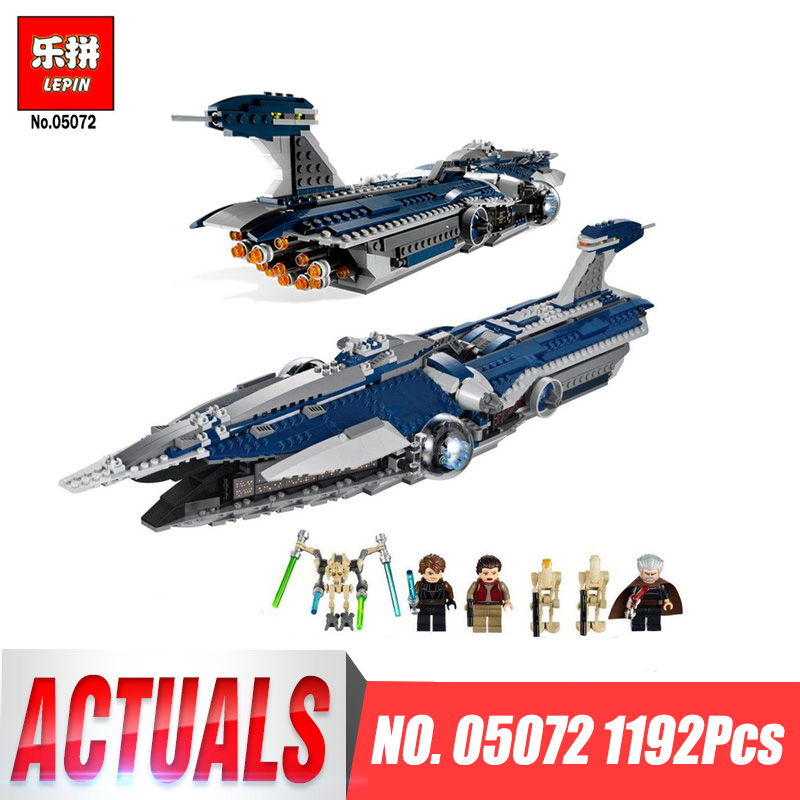 Здесь можно купить  Lepin 05072 Star Classic The Limited Edition Malevolence Warship Set Wars Children Building Blocks Bricks Model legoingys 9515  Игрушки и Хобби