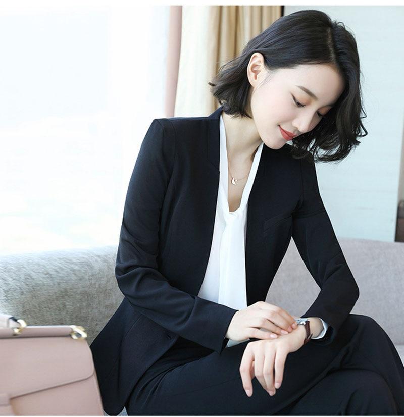 New Women Work Wear Women's  Business Dress Knee Long-Sleeved Coat+Dress+Shirt 3 Pcs / Set  Drop Shipping