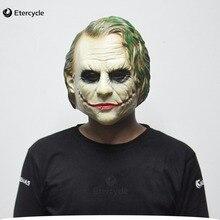 Joker mask batman clown kostüm cosplay film erwachsene partei maskerade latex masken für halloween