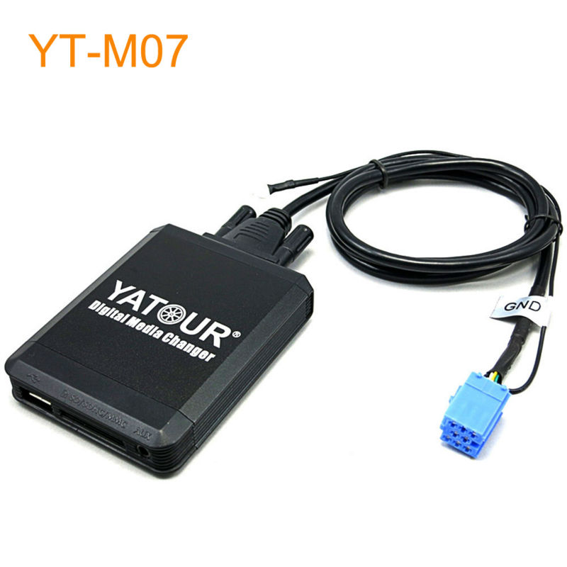 Yatour Car MP3 USB SD CD Changer for iPod AUX with Optional Bluetooth for Skoda 2003-2008 Octavia Fabia Super car usb sd aux adapter digital music changer mp3 converter for skoda octavia 2007 2011 fits select oem radios