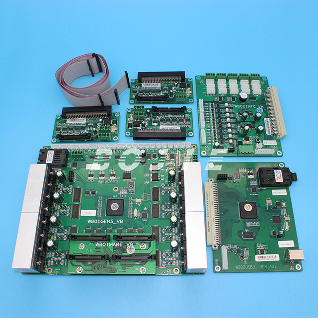 US $1022 0 |High quality set board kit board for ricoh gen5 print head for  uv flatbed printer-in Printer Parts from Computer & Office on