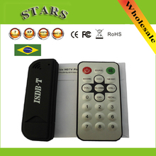 Mini Numérique ISDB-T USB2.0 TV HDTV Tuner Bâton Récepteur Enregistreur Avec Télécommande + Antenne pour Le Brésil, En Gros Livraison Gratuite