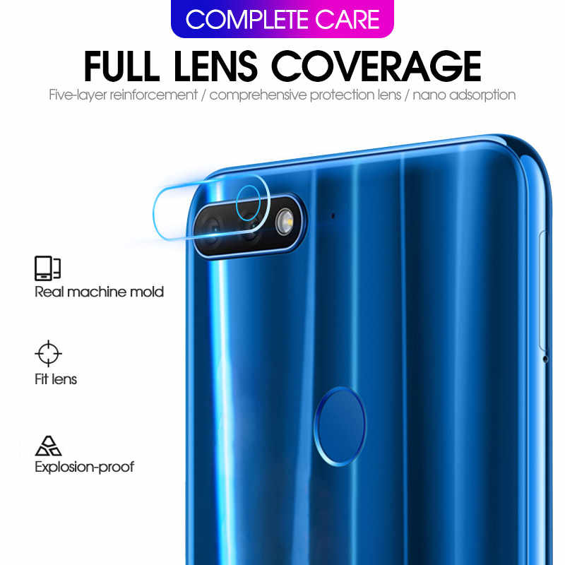 2Pcs Back Camera Lens Protector For Huawei Y9 Y6 Y5 Y7 2019 2018 Screen Protector Len Film For Huavei Y6 Y5 Y7 Y9 2018 2019 Glas