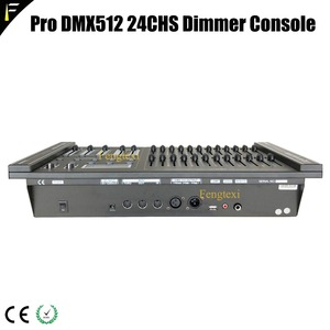 Image 5 - 24 Channels DMX 512 Dimming Console Intelligent Dimmer Controller Table With LED Lighting For Show Affordable Free Shipping