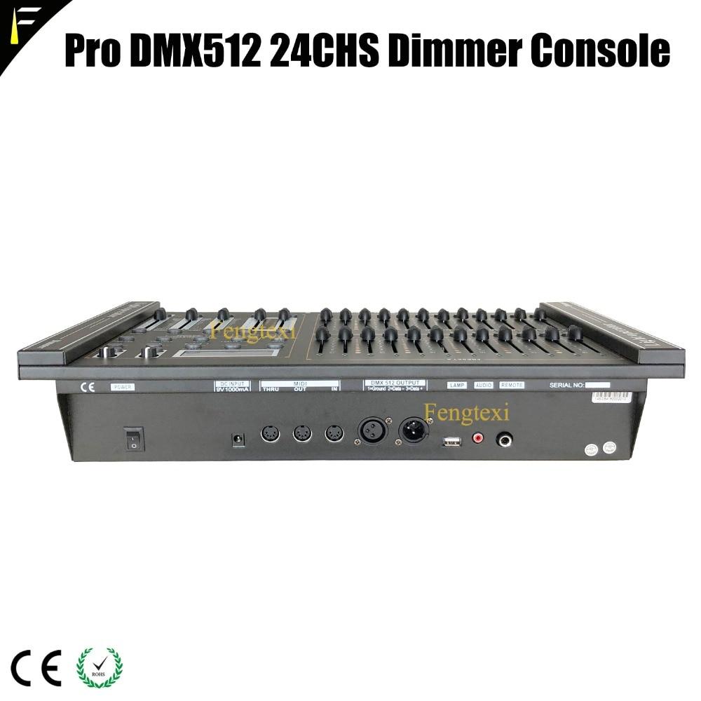 24 kanäle DMX 512 Dimmen Konsole Intelligente Dimmer Controller ...