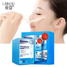 Корейская маска для красоты лица 3 в 1 для лица hidratante Гиалуроновая кислота порошок глубокое очищение увлажняющий крем усадочная полоска пор