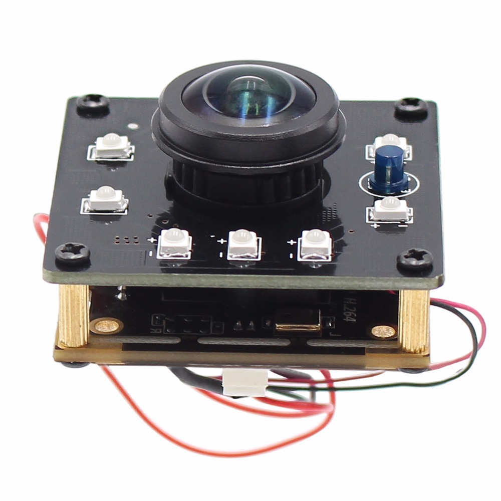 ELP 1.3MP Wide Angle Industrial Mini USB camera CMOS AR0130 CCTV Android Linux UVC Webcam Mini board usb camera module elp 1 3 mp 960p hd cmos ar0130 board low light mini 3 6mm lens 5v usb security camera for android linux windows support otg