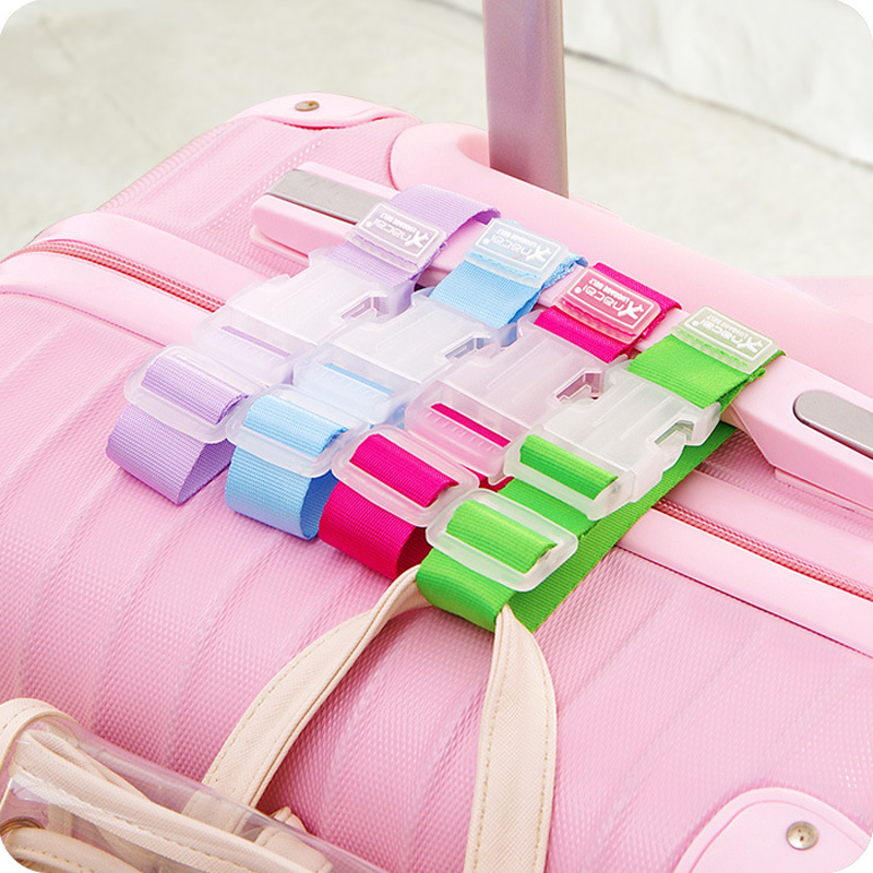 Luggage Suitcase Bag Hanger Buckle Portable Travel Hang Belt Anti-lost Clip Against Loss Bag Label Fixing Strap super speed v0169 fashionable silicone band men s quartz analog wrist watch blue 1 x lr626