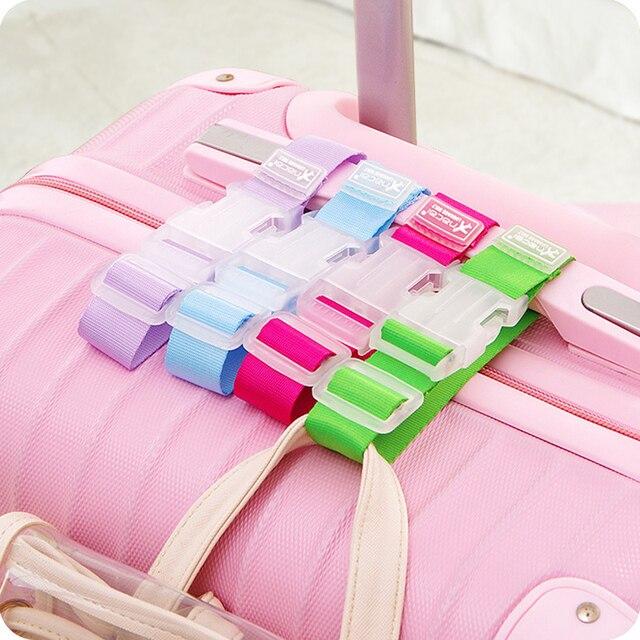 Valigia bagagli Gancio Del Sacchetto Fibbia Portatile Da Viaggio Appendere Nastro Anti-lost Clip Contro La Perdita Etichetta Sacchetto di Fissaggio Strap