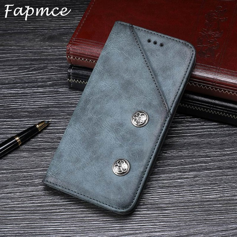 For Oukitel K6 Case 6.0 inch Vintage Phone Bags Cover Hight Quality Flip Leather Case For Oukitel K6 Wallet Cover Retro Case