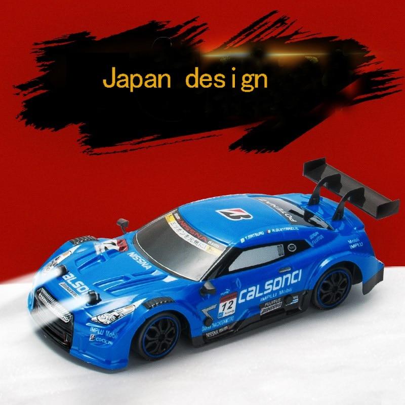 Voiture RC pour GTR/Lexus 4WD dérive course voiture championnat 2.4G hors route Rockstar Radio télécommande véhicule électronique passe-temps jouets - 5
