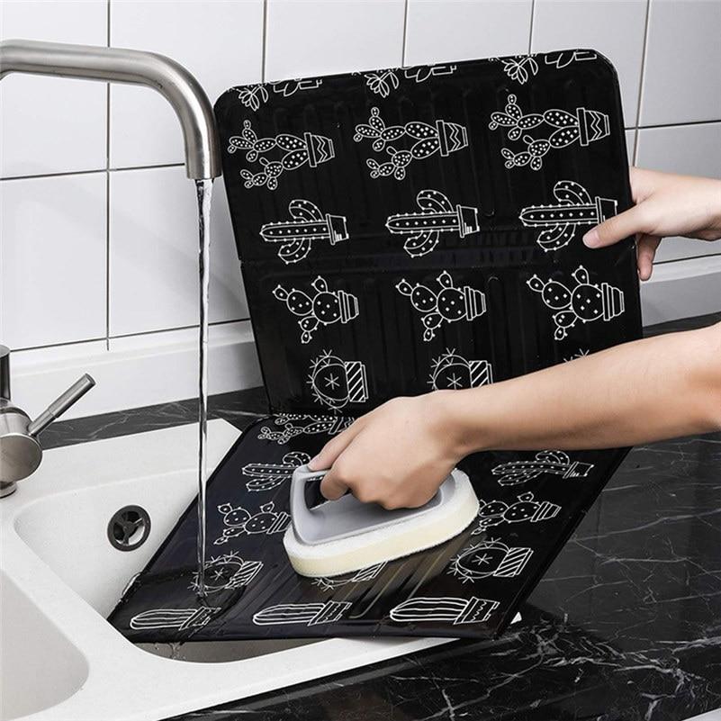 Кухонная алюминиевая плита фольга предотвращает брызг масла приготовления горячей перегородки кухонный инструмент защита от брызг Масла Кухонные аксессуары/C