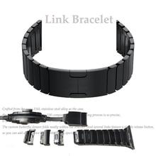 حزام ساعة اليد مزدوجة زر للطي المشبك ل أبل ساعة 4 3 2 استبدال سوار فولاذي غير القابل للصدأ ل iwatch 38 أو 44 مللي متر 42 أو 44 مللي متر