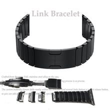 Watch Strap Double Button Folding Clasp for Apple Watch 4 3 2  Replacement Stainless Steel Band For iwatch 38 or 44mm 42 or 44mm
