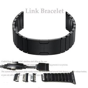 Image 1 - 時計ストラップダブルボタンフォールディングクラスプappleの腕時計4 3 2交換ステンレス鋼ためiwatch 38または44ミリメートル42または44ミリメートル