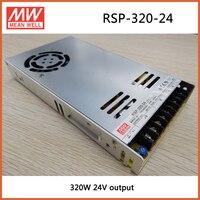 Meanwell MEAN WELL original RSP-320-24 24 V 13.4A RSP-320 24 V 321.6 W Single Output com Função PFC fonte de Alimentação
