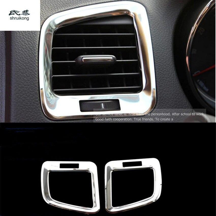 Air Vent Bezel Frame Suitable for Opel Mokka Stainless Steel