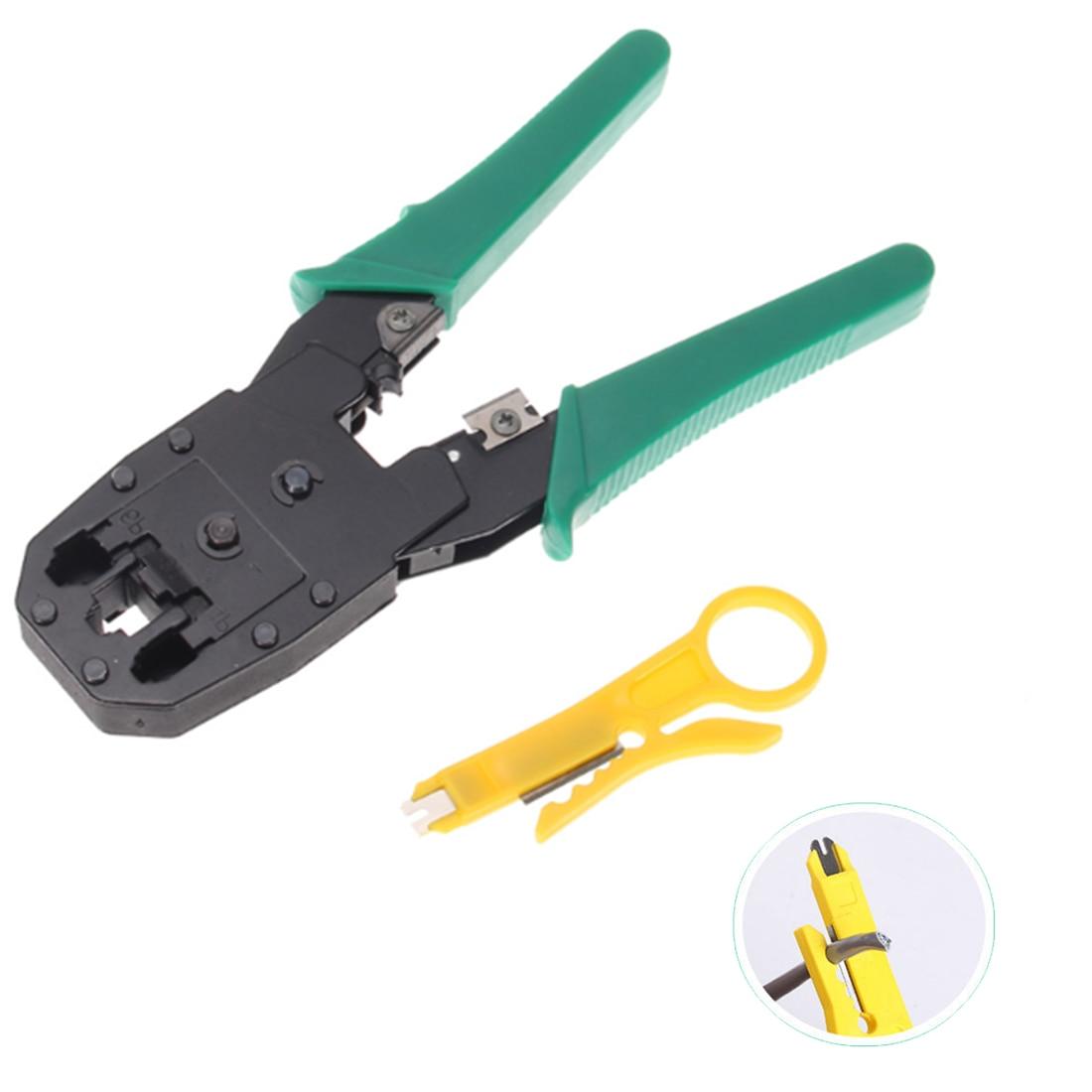 Vernetzung RJ45 RJ11 Draht Kabel Crimper Multi Werkzeug Crimp Für PC/Computer Netzwerk/8P8C/6P6C/4P4 stecker Hand Werkzeuge
