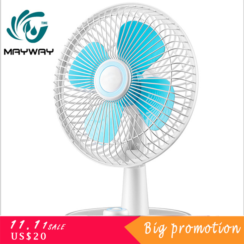 8 Inch Silent Mini USB Fan Refrigeration Office Student Dormitory Bed Desktop Small Fan Electric Cooling Fans Mini Ventiladores