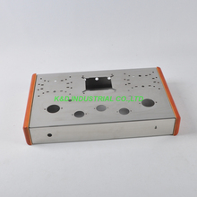 1pc 300B Tweed Deluxe Stainless Steel Chassis 2A3 300B KT88 tube amplifier DIY