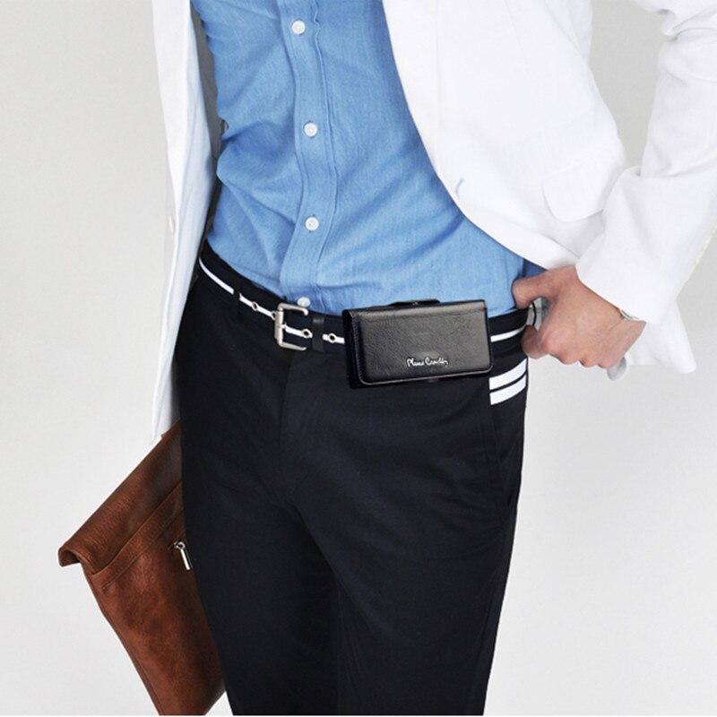 Marke Neue Pierre Cardin Echtem Leder Gürtel Clip Fall Abdeckung Für Apple iPhone XR XS Max Telefon Tasche Handy fall Freies Verschiffen
